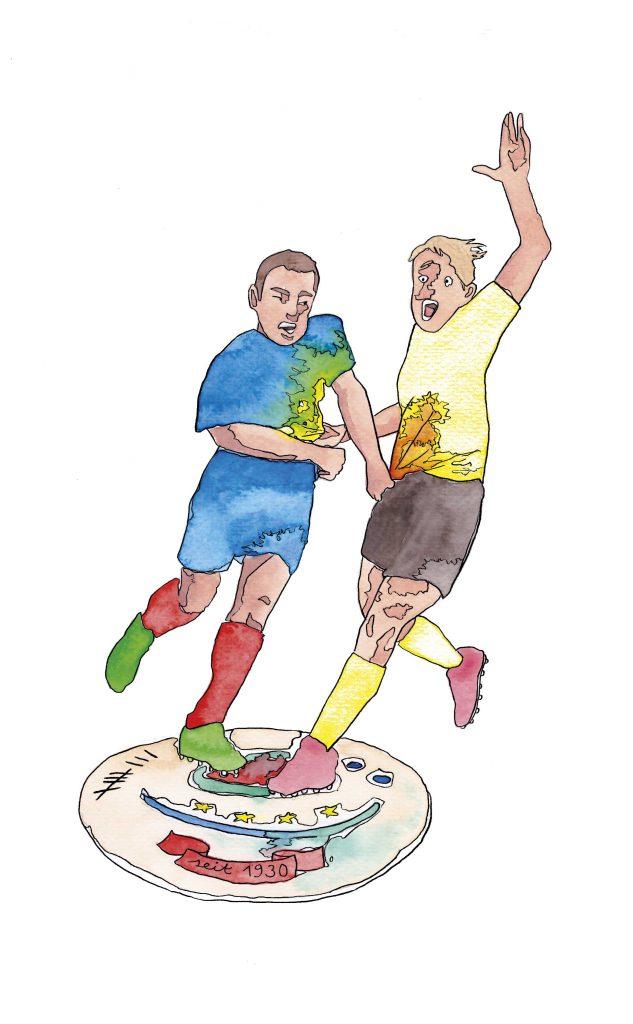 Fould Fußball Taz