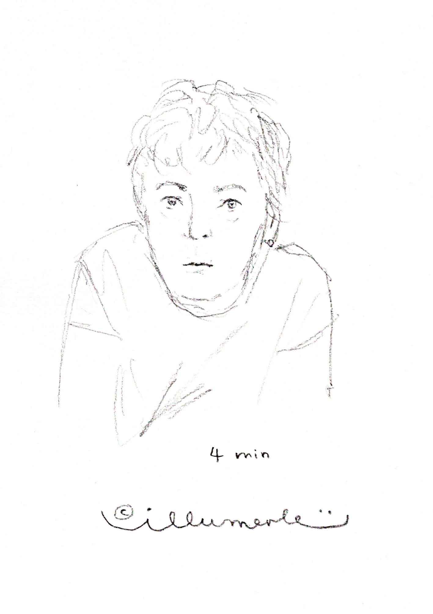 4 minuten portrait
