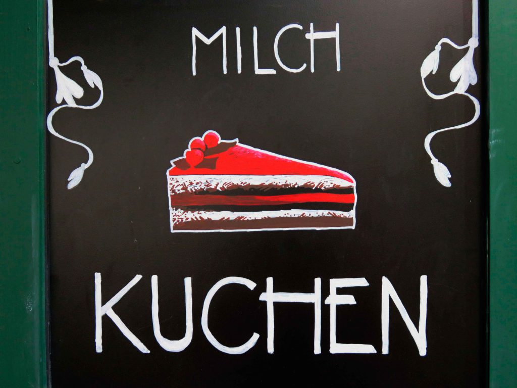 blackboards coffee cult kuchen