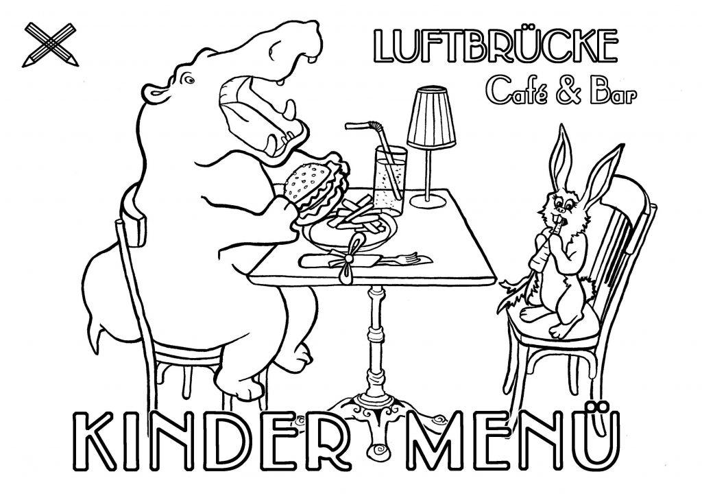 kinder menue luftbrücke café