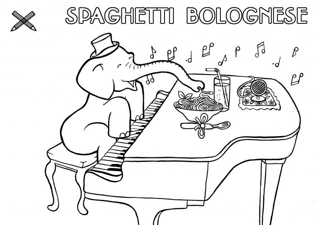 kinder menue spaghetti bolognese