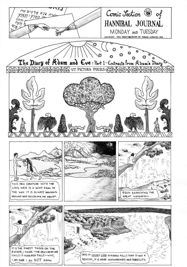 twain adam's diary niagara falls