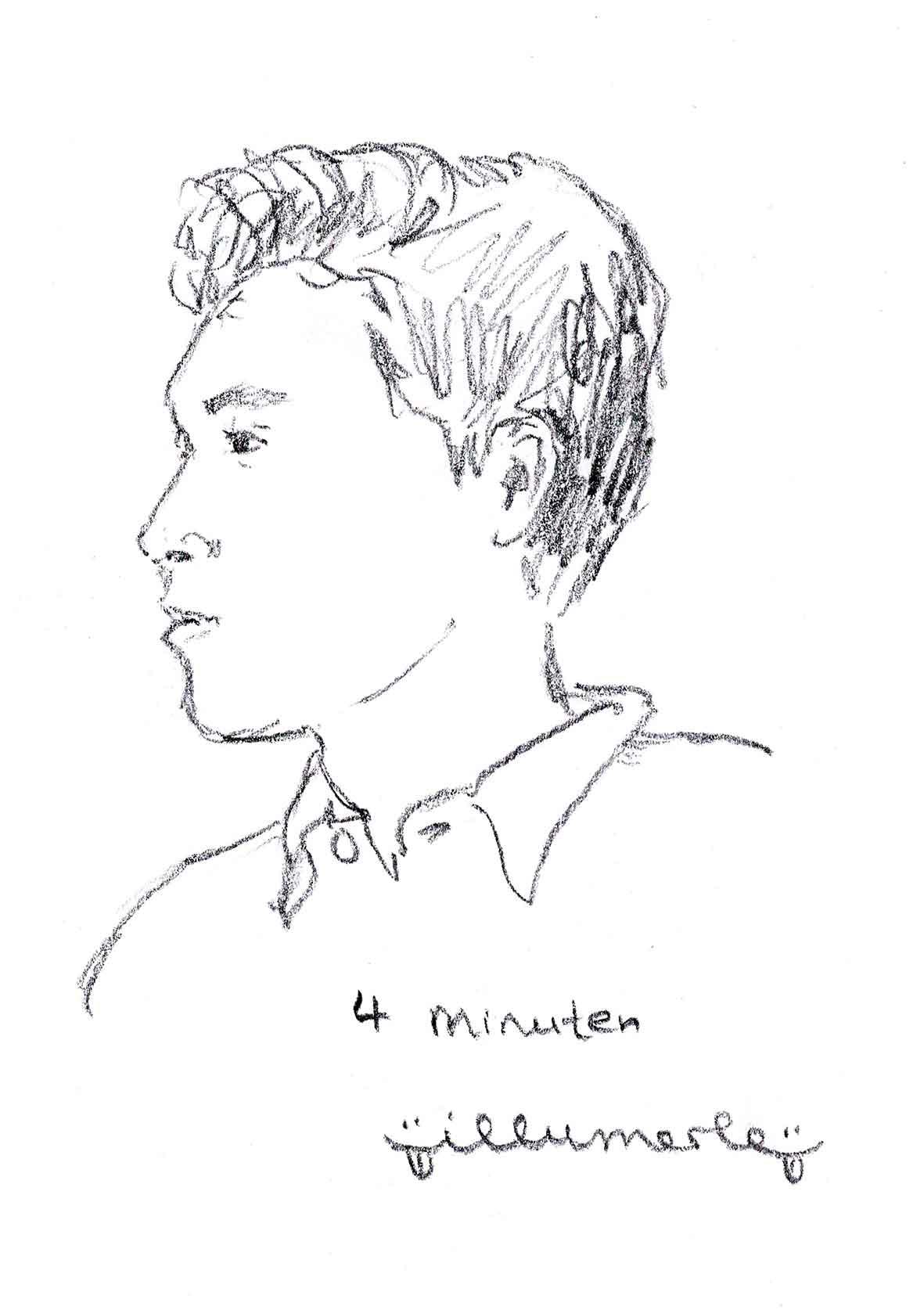 4 minuten porträt