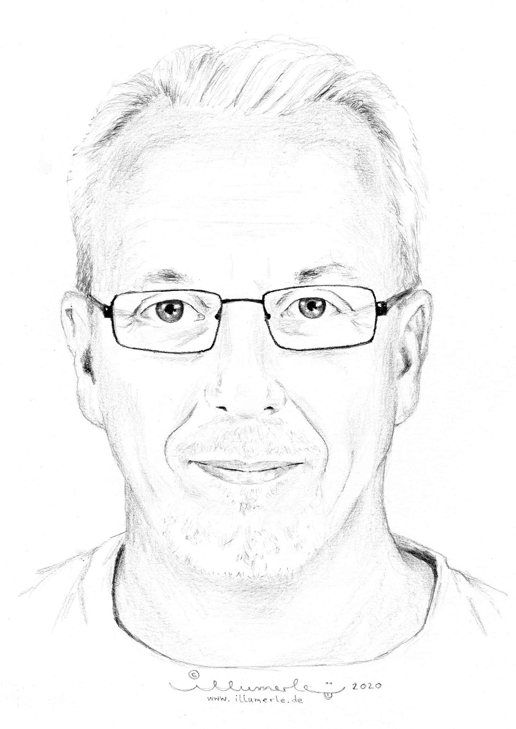 porträt-Detail-mann-mit-bart-und-brille