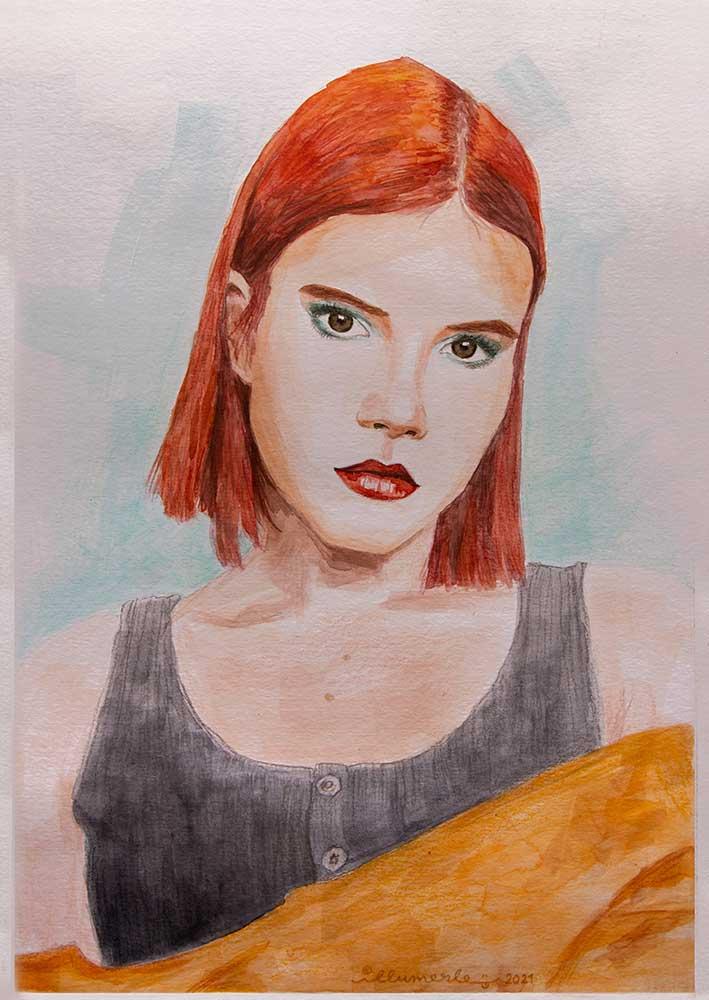 porträt-mishou-aquarell